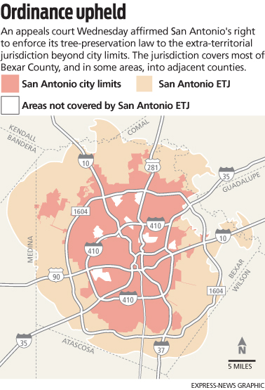 Much Was At Stake In The Debate. Some Of The Fastest Growing Areas Of San  Antonio Have Been In The ETJ, Where The City Can Enforce Some, But Not All,  ...