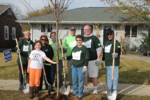 The New Jersey Tree Foundation engaged TD employees and local volunteers to plant trees in Point Pleasant Beach, NJ, which was hit hard by 2012 Superstorm Sandy.