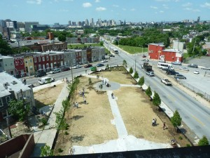 Baltimore New Broadway park  6