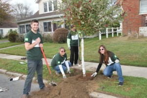 TD Tree Day 2013 in Point Pleasant, NJ with ACTrees member New Jersey Tree Foundation