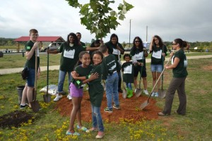 ACTrees member Texas Trees Foundation plants 90 trees at TD Tree Day in Grapevine, TX